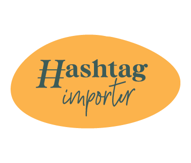 logo from our hashtag importer